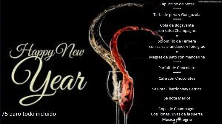 Restaurants New Year's Eve Palma de Mallorca