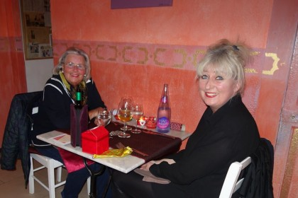Celebrating Christmas Day Lunch at Restaurants A ma Maison Palma Mallorca 2014